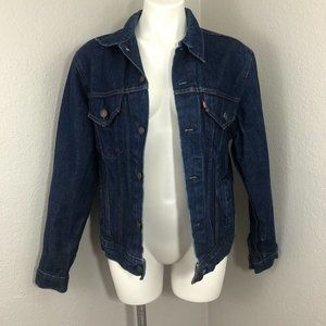 Vintage Levi's Dark Wash Denim Jean Jacket